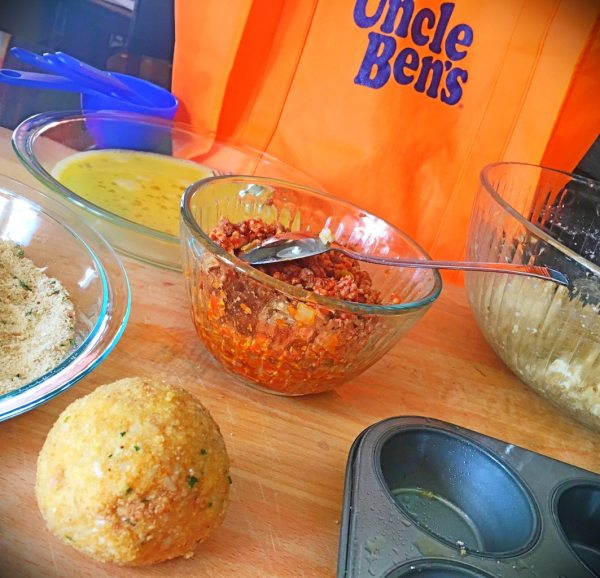 Rice Ball Cupcakes with #BensBeginners