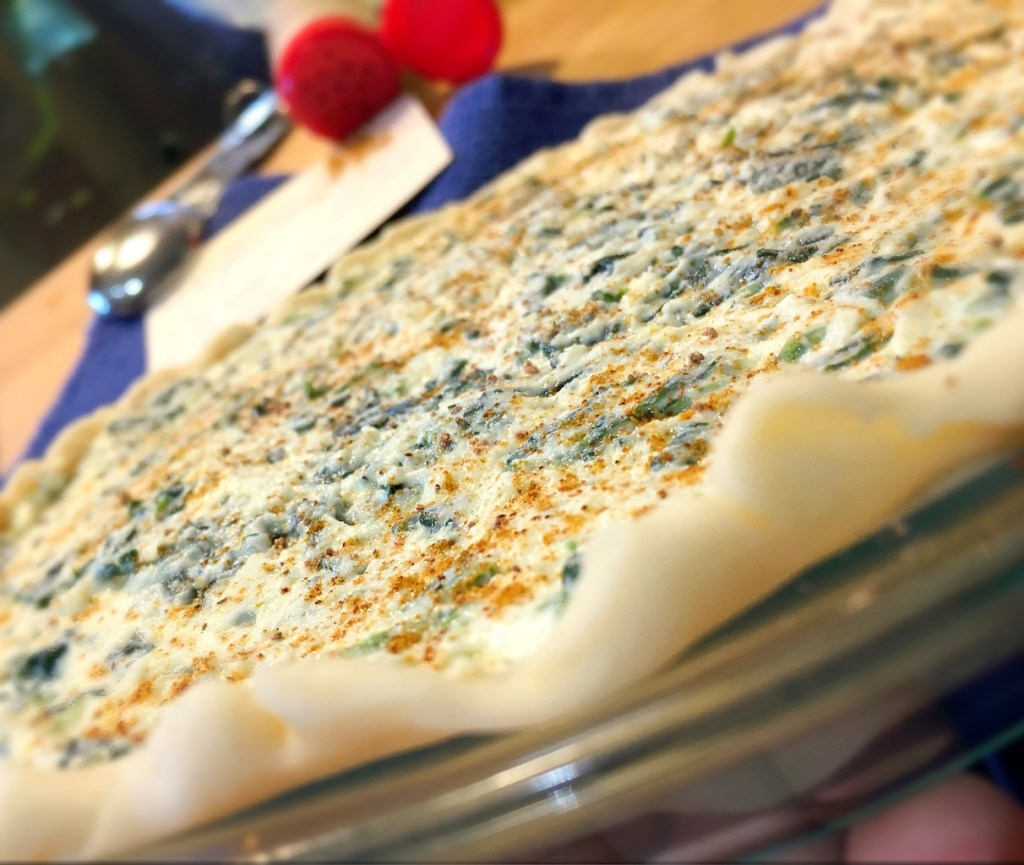 Ricotta Spinach Pie