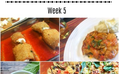 #Whatsfordinner Week 5 : Summer Seasonal Inspired Meals
