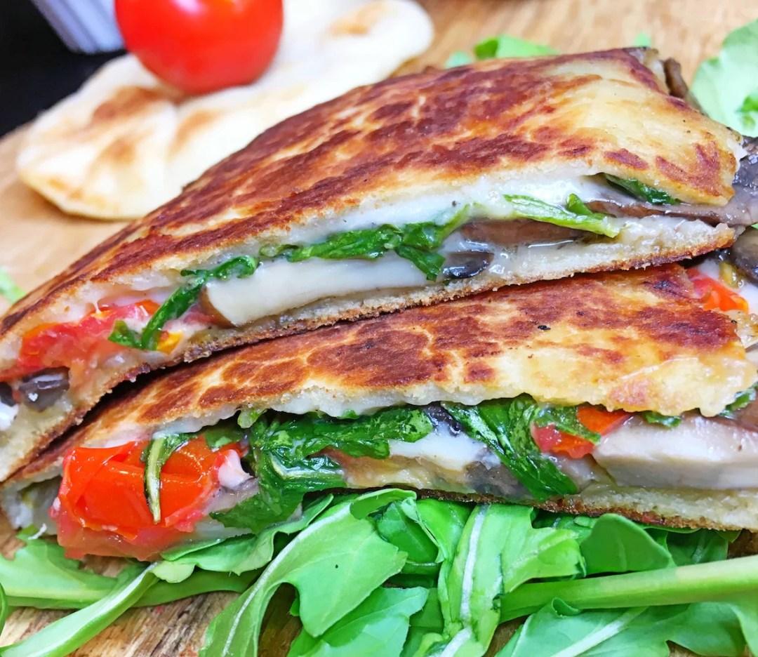 Portobello Arugula Sandwich