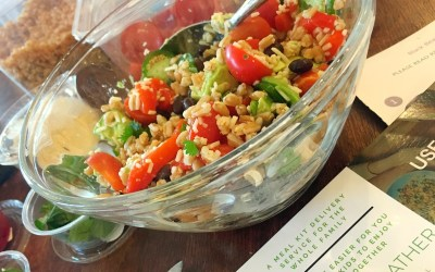 Cooking LIVE: Black Bean Farro Burrito Bowl with Simply Gather