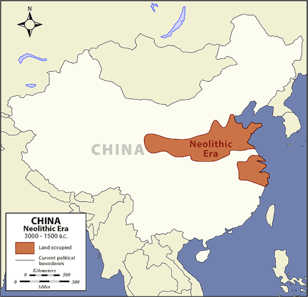 Mapa Civilizacion China