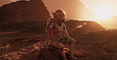 Perdido em Marte, o filme