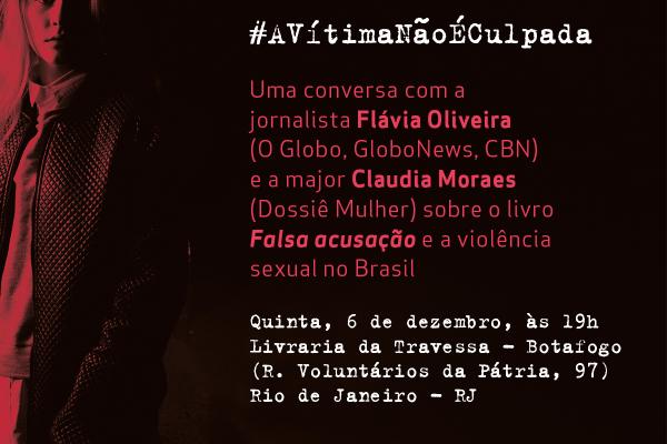 Jornalista e major debatem violência sexual no Rio de Janeiro