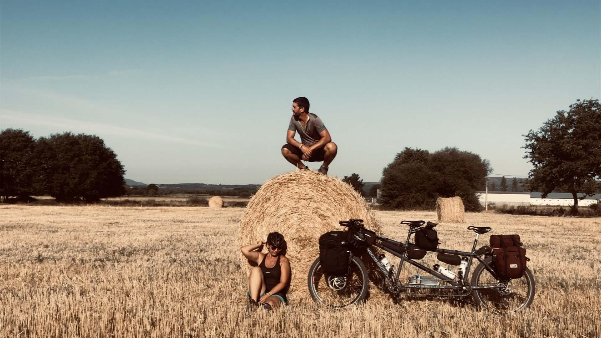 Caminho Sanabrés de bicicleta tandem