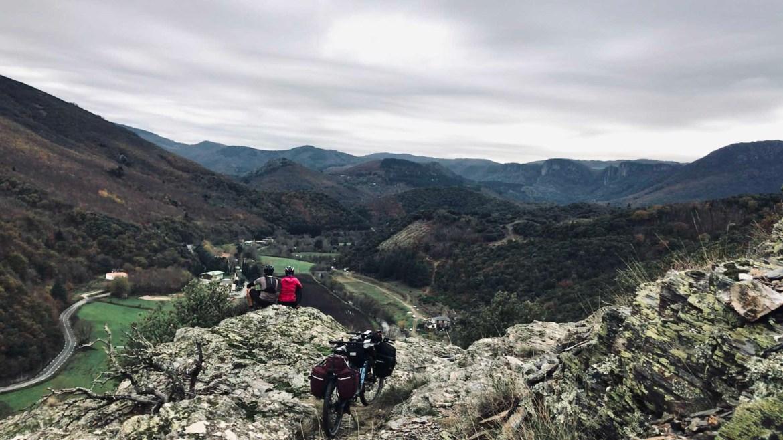 Montanhas, caminho de Arles, GR 653