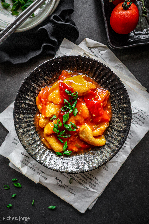 Vegan Tomato Egg Stir-Fry (番茄炒蛋)