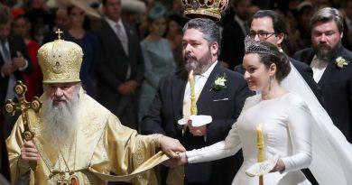 Первое за сто лет венчание Романовых в России прошло в Исаакиевском соборе