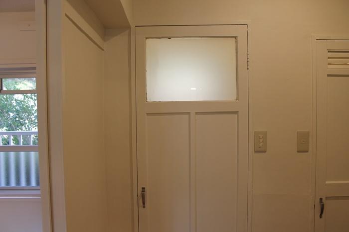 二宮団地のトイレの扉