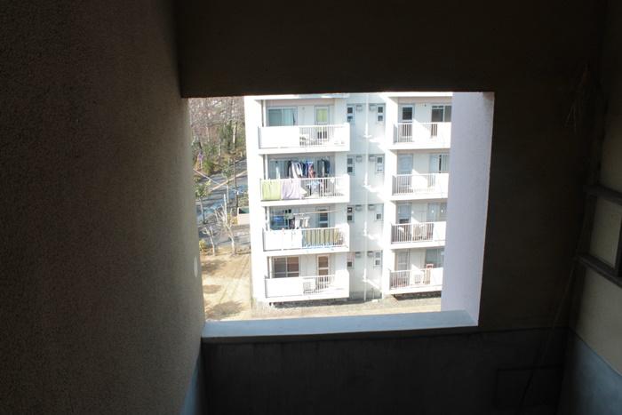 二宮団地の5階から