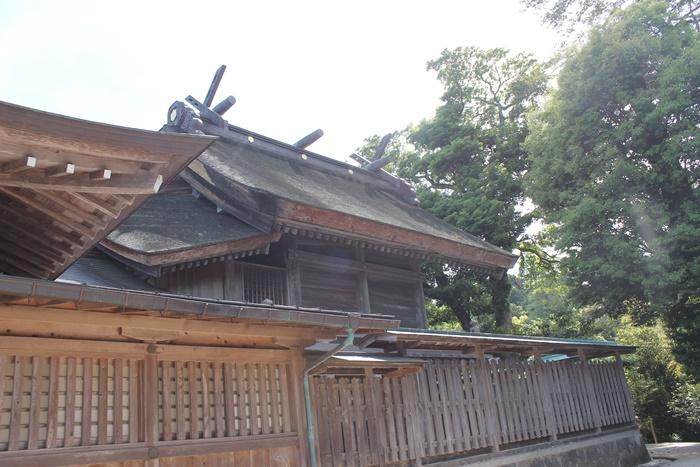 出雲の八重垣神社の本殿
