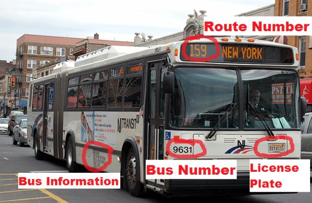 NJT bus Information