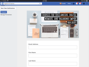 Facebook Integration with Facebook Business Page