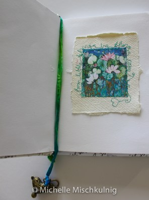 Think about the size you would like to decorate your first page as the book is opened.