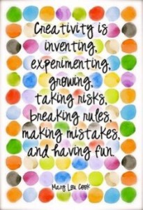 Developing your creativity