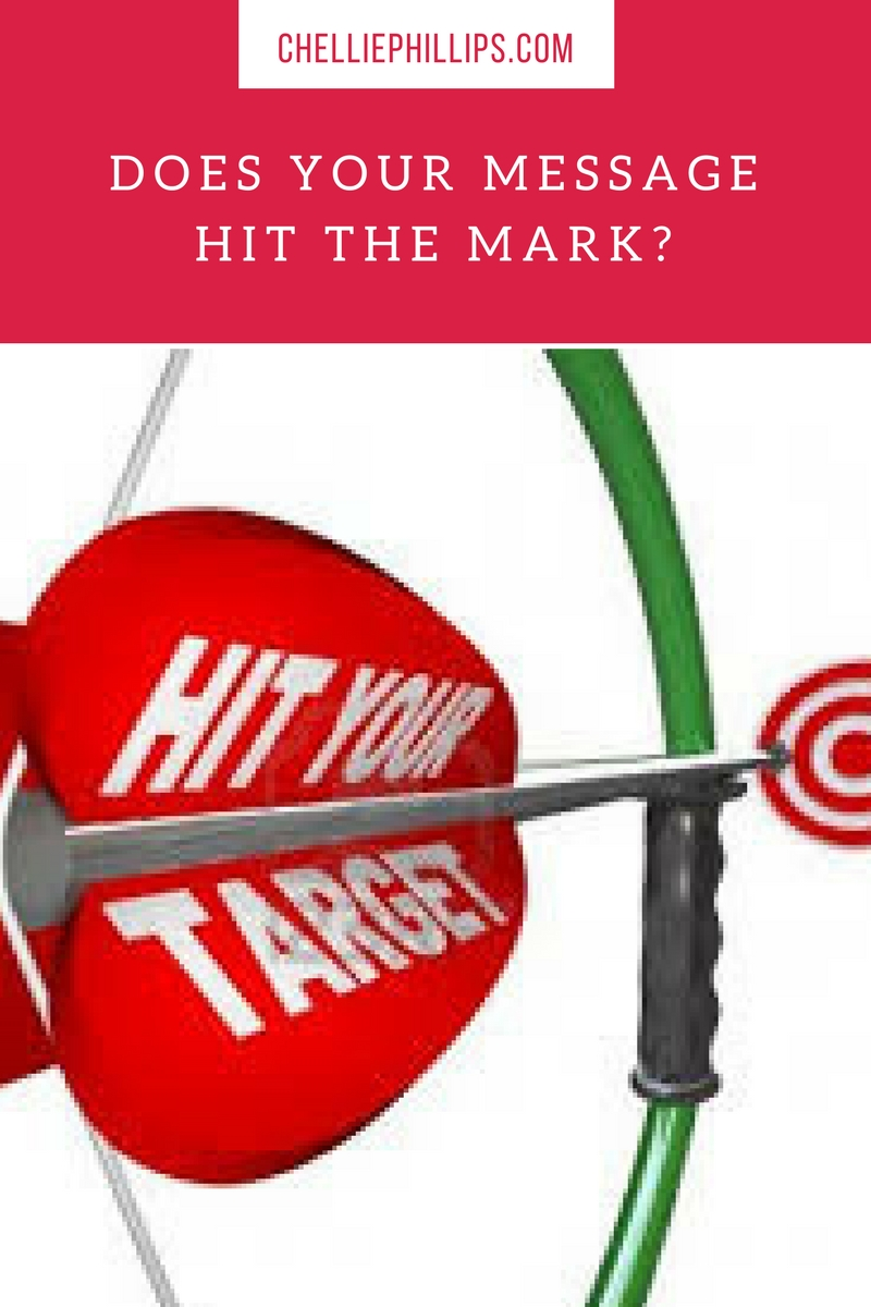 Does your message hit the mark?