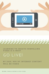 Go Live! Video feeds are the future.