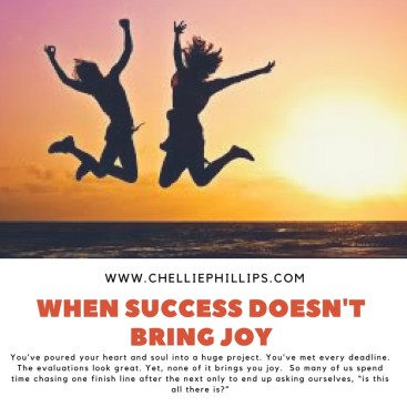When success doesn't bring joy