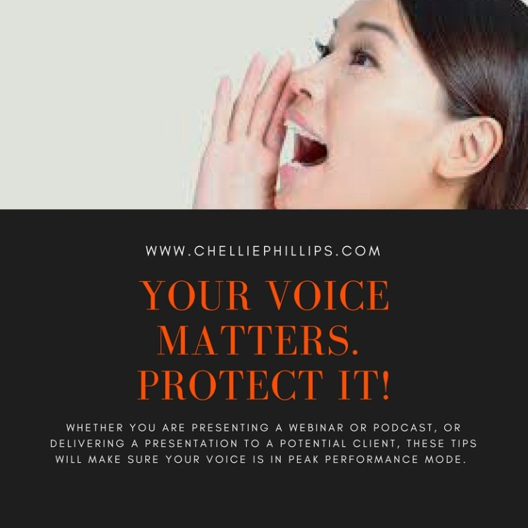 Your voice matters. Protect it!