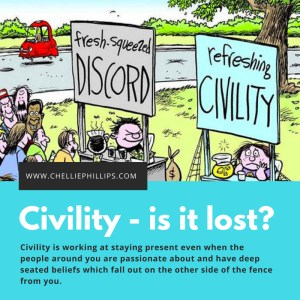 Civility – Is it lost?