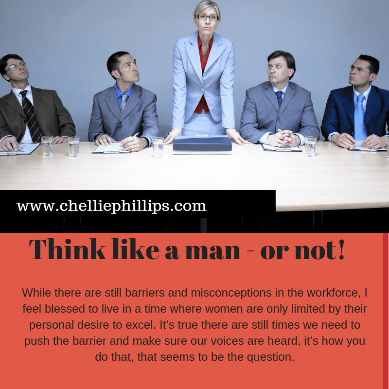 Think like a man — or not!