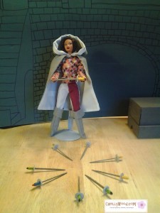 Medieval Barbie Doll Cloak Pattern Sword Tutorial for Barbies Barbie Dolls