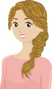 How to make a French Braid tutorial