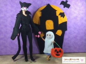 Click here to find all the patterns and tutorials you'll need to make this project: https://chellywood.com/2016/10/31/free-printable-sewing-patterns-for-halloween-dolls-costumes/