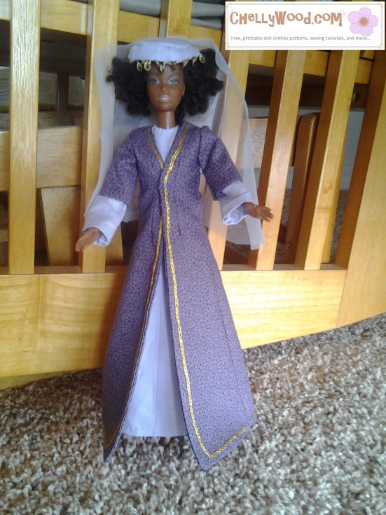 Visit ChellyWood.com for free, printable sewing patterns and tutorials for dolls of many shapes and sizes.