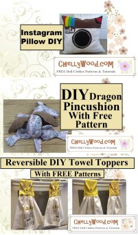 Click here to find all the patterns and tutorials you'll need to make these three projects: https://chellywood.com/2016/12/07/christmasgiftideas-for-diy-projects-w-free-tutorials-chellywood-com/