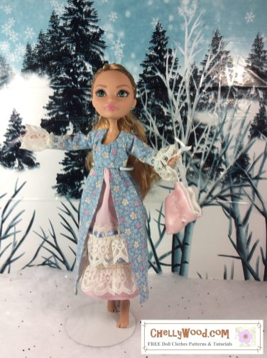 Click here to find all the patterns and tutorials you'll need to make this project: https://chellywood.com/2017/01/27/small-dolls-pioneer-outfit-patterns-are-free-chellywood-com-dollstagram/