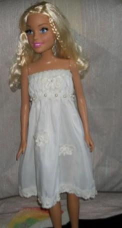 28 Inch Barbie Dress by Jeretta B.