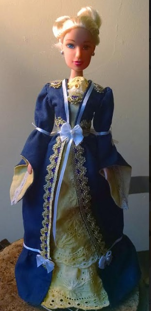 Moira Duncan Doll Clothes Royal Blue by Cait W.