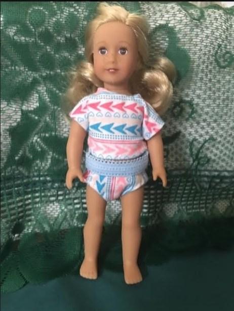 Underwear for 6 Inch American Girl dolls by Jeretta B