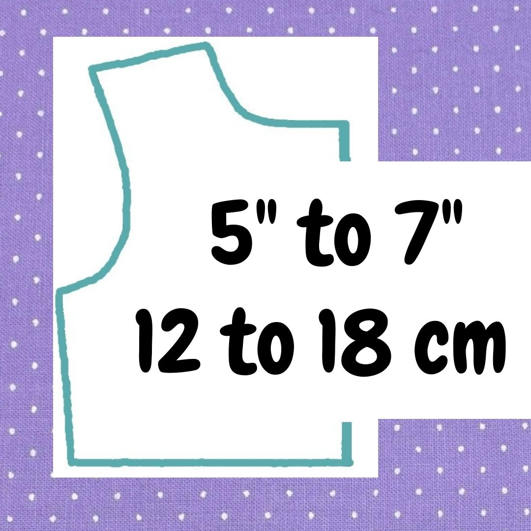 If your doll is 5 inches to 7 inches or 12 to 18 cm tall, click here please.