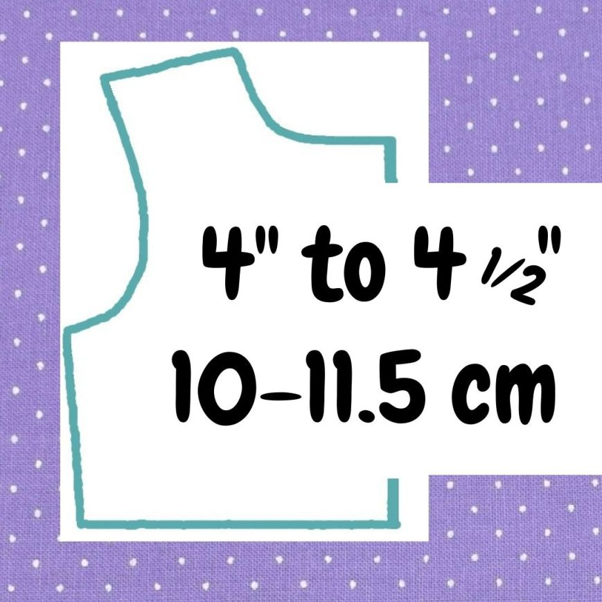 If your doll is 4 inches to 4 and a half inches or 10 to 11.5 cm tall, click here please.