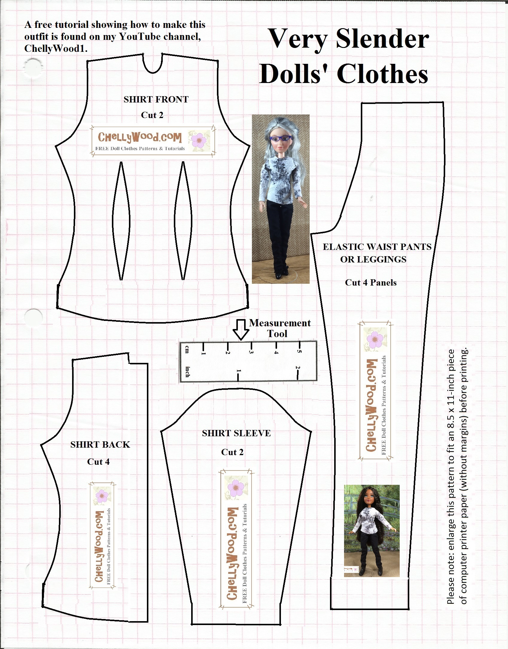 Renaissance Pants For Fashion Dolls Is 9 On My Top Free