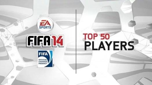 EA Sports divulgou a lista dos 50 melhores jogadores do FIFA 14 (Foto: EA Sports)