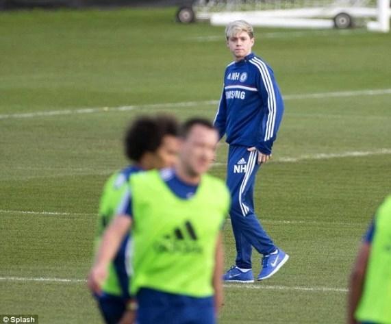 Niall Horan espera se recuperar para a turnê mundial da banda em abril