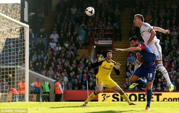 Em gol contra, Terry decretou a derrota do Chelsea