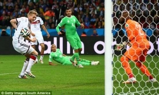 Schurrle marcou o primeiro gol da partida