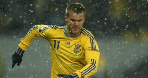 Jogador é uma das estrelas da Ucrânia (Foto: Divulgação)