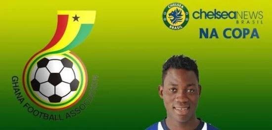 Conheça mais sobre a seleção de Christian Atsu, jovem promessa do Chelsea (Foto: Marcello Neves)