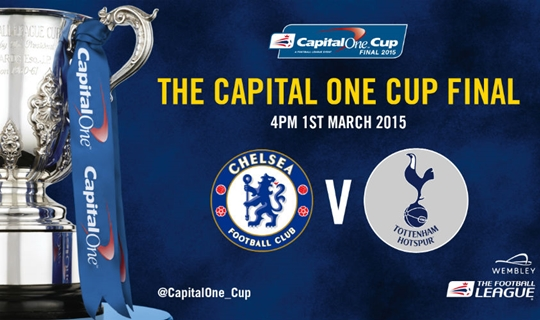 Chelsea e Tottenham reeditam a final de 2008 (Foto: Capital One Cup)