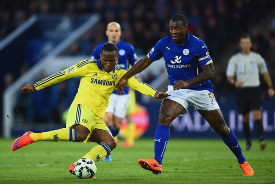 Drogba marcou o gol d empate dos Blues (Foto: Getty Images)