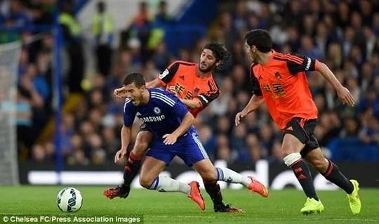 Chelsea venceu a Real Sociedad na pré-temporada