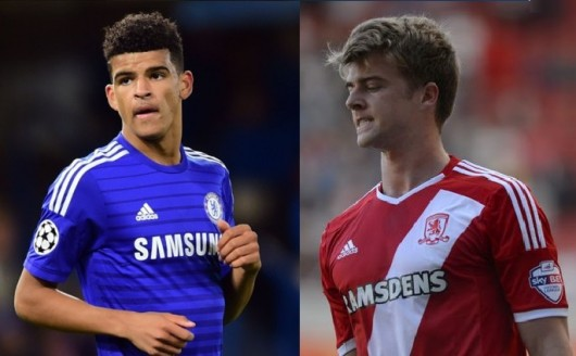 Solanke e Bamford terão chances no time principal? (Foto: Arte/Getty Images)