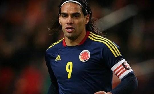Falcao foi misterioso ao falar sobre sua transferência (Foto: Getty Images)
