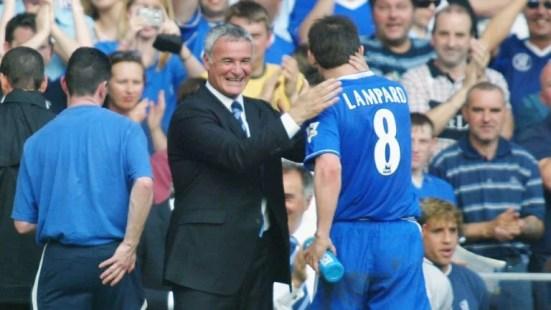Ranieri treinou o Chelsea de 2000 a 2004 (Foto: Sky Sports)