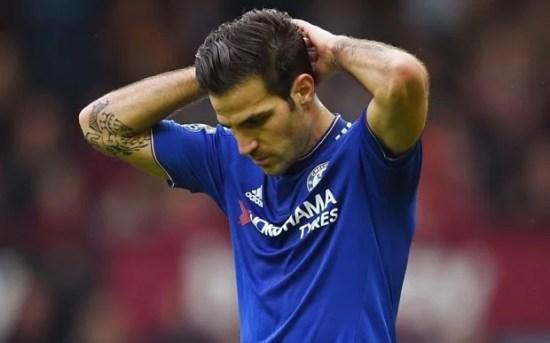 Fàbregas não jogou contra o Liverpool neste último final de semana (Foto: Reuters)